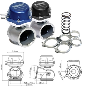 Turbosmart PowerGate60 Wastegate